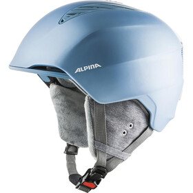 Alpina Grand Skihelm skyblue/white matt